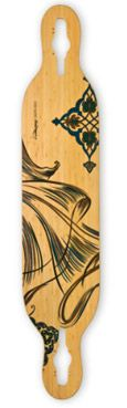 loaded bamboo dervish deck. $184 #longboards