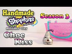 Season 3 Shopkins: How To Make Choc Kiss Polymer Clay Tutorial! - YouTube