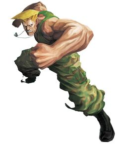 Guile from Street Fighter X Tekken