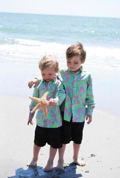 little boys in lilly pulitzer, can I say future children?