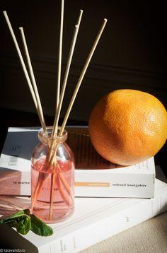 ароматизатор с палочками своими руками: простой рецепт с эфирными маслами и базовым растительным маслом, грейпфрут и мята