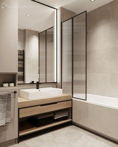 Modern Small Bathrooms, Modern Bathroom Design, Bathroom Interior Design, Modern Interior Design, Modern Toilet Design, Bath Design, Home Room Design, House Design, Casa Milano