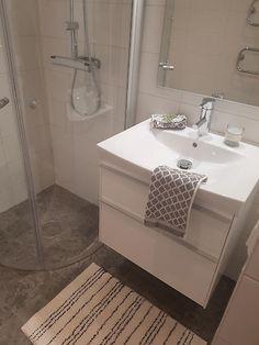 Konradssons Kalk Grey Grå 30x60 cm Bathrooms, Vanity, Dressing Tables, Powder Room, Bathroom, Vanity Organization, Bath, Vanity Desk, Mirror