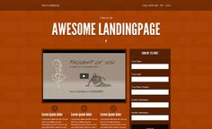 Landing Pages: Template Designs