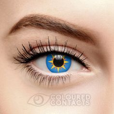 Blue Esoteric Colored 90 Day Contact Lenses Blue Contacts, Colored  Contacts, Contact Lenses For 3c2b4a3a93
