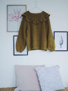 Mum's ruffle sweater winter + summer version