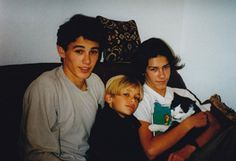 James, Dave and Tom Franco and another hideous cat.