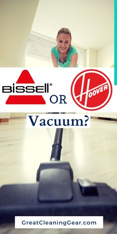 Bissell or Hoover Vacuum? Both Bissell and Hoover are renowned names in the cleaning world and they have an array of vacuums to choose from. This guide will help you to figure out whether Bissell or Hoover vacuums are better. Laminate Flooring Cleaner, Laminate Flooring Colors, Cleaning Tile Floors, Floor Cleaning, Wood Flooring, Best Upright Vacuum Cleaner, Best Vacuum, Deep Cleaning, Pug