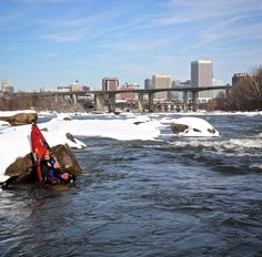 @homeonthejames - Who's doing this if we get snow?  #VisitRichmond #RVA #LoveVa