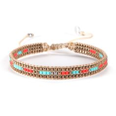 Bracelet Track Turquoise by Mishky. Brand: Mishky Trends: Hand Made Style: Bracelets Origin: Made in Colombia Thread Bracelets, Bead Loom Bracelets, Wrap Bracelets, Trendy Fashion Jewelry, Fashion Bracelets, Leather Jewelry, Beaded Jewelry, Bracelet Fil, Bracelet Turquoise