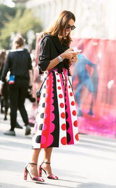 Viviana Volpicella, Paris Fashion Week/Garance Doré...