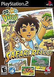 Go, Diego, Go Safari Rescue (Sony PlayStation 2, 2008) #ps4 #gaming