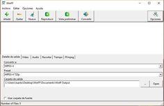 WinFF es un software gratuito, disponible para Windows y diversas distribuciones Linux, con el que resulta muy sencillo convertir archivos de vídeo.