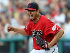 MLB names Cleveland Indians' Carlos Carrasco AL Comeback Player of the Year Calf Injury, Cleveland Indians Baseball, Roberto Clemente, Josh Donaldson, Tampa Bay Rays, American League, National League, Abandoned Castles, Abandoned Mansions
