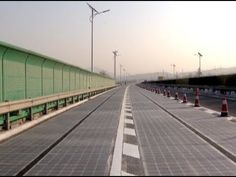 'World's First Solar Highway' Opens inChina for Testing