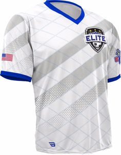 480S-SUB Men's Elite Soccer Shirt (White)