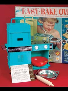 70's was . . . Whipping up something in the easy bake oven
