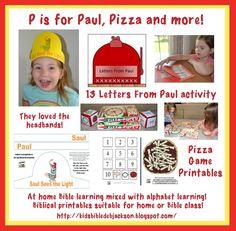 Preschool Alphabet: P is for Paul