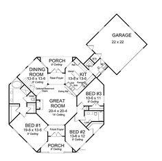 Inspiring Octagon Home Plans #8 Octagon House Plans Blueprints
