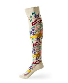 Growing Up Cotton Knee Sock