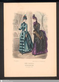 481 - Illustration Der Bazar, Illustrirte Damen-Zeitung. November 1886. - Der Bazar - Page - Digitale Sammlungen - Digital Collections