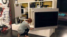 Smart Living by Ozzio Design - parete attrezzata, mobile porta tv, wall ...