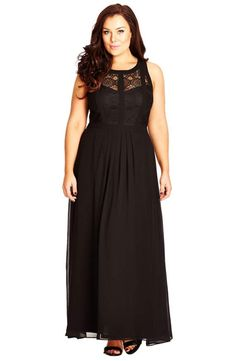 Shop a great selection of City Chic Paneled Lace Bodice Gown (Plus Size). Find new offer and Similar products for City Chic Paneled Lace Bodice Gown (Plus Size). Curvy Fashion, Plus Size Fashion, Xl Fashion, Fashion Women, Dresser, Plus Size Maxi Dresses, Formal Dresses, Pageant Dresses, Dresses Dresses