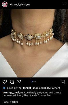 Fancy Jewellery, Jewelry, Absolutely Gorgeous, Chokers, Shopping, Fashion, Moda, Jewlery, Jewerly