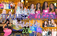 2015 Vegas Teacher Blogger Meet UP!