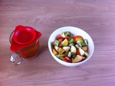 My delicious dessert! Perfect sunday by the way... #dessert #fruits #raw #food