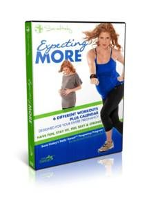 Stay fit while pregnant! {Sara Haley Expecting More Pregnancy Workout DVD}
