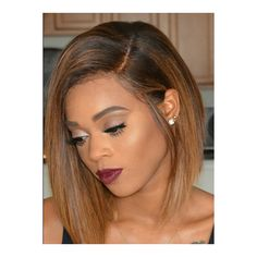 Hairstylist Anthony Sexy BOB Hair AnthonyCuts015 ❤ liked on Polyvore featuring accessories and hair accessories