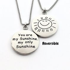 You Are My Sunshine My Only Sunshine - Necklace