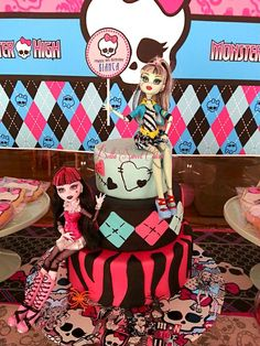 Monster High Birthday Party Ideas | Photo 3 of 29 | Catch My Party