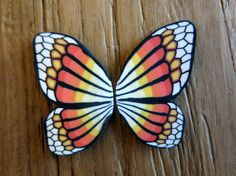 Set of 2 handmade polymer clay butterfly wings 1 by sillicreations, €0.99