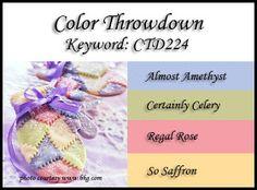 Color Throwdown: Color Throwdown #224