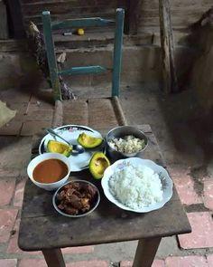#Jaraguenses en sus horas de almuerzo: Arroz Concón habichuela tajo y aguacates