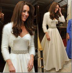 White angora bolero Kate-Middleton-Bolero