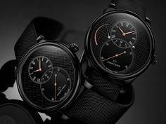 Meet the Jaquet Droz Grande Seconde Ceramic Clous De Paris Watches. There are three new models in the Grande Seconde lineup.