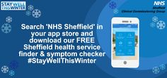 NHS, NHS Sheffield CCG, NHS Sheffield Clinical Commissoning Group, Stay Well This Winter, Winter, Health, Advice, NHS, Choose Well,