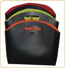 recycled tire lunch bag! #ReTIre #RubberofftheRoad