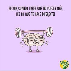 ¡Un poquito más! ¡Intentar superar tus propias #metas es lo que te hace #especial! #Vivesoy #Frase #Positividad #MeCuido #Bienestar #BebidasVegetales #Disfruta #Soja #Disfruta