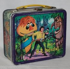 H.R. PUFNSTUF LUNCHBOX * Vintage Metal Lunch Box. Mine like this is a conversation piece ...most people never saw the show.