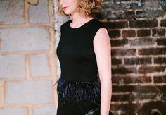 The Camilyn Beth Fondren Dress in Black   Fall/Winter 2016