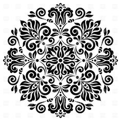 Find Ornamental Round Floral Pattern Colorful Ornament stock images in HD and millions of other royalty-free stock photos, illustrations and vectors in the Shutterstock collection. Islamic Art Pattern, Pattern Art, India Pattern, Free Vector Clipart, Vector Graphics, Simple Mandala, Pumpkin Stencil, Illustration Vector, Ornaments Design
