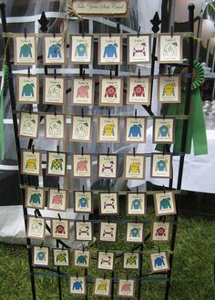 Our Kentucky Derby Wedding.place cards for tables are jockey silks My Old Kentucky Home, Kentucky Derby, Picture Frame Table, Run For The Roses, Derby Day, Southern Weddings, Our Wedding, Wedding Ideas, Autumn Wedding