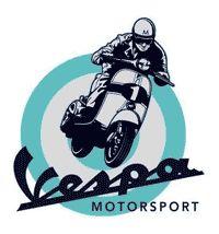 Vespa scooter pop art for Vespa Motorsport in Portland, OR. A sponsor of the Spring Scoot 2012.