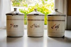 Art Deco French Canister Set ~ SOLD