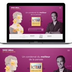 Create a website design to popularize philosophical ideas by Mike Barnes