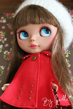 Blythe Doll by Cyrielle 1, via Flickr